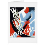 Work With Care 1936 WPA