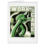 Work With Care 1937 WPA