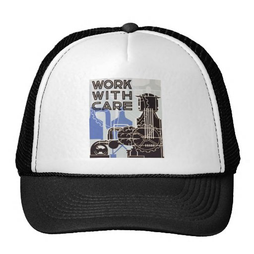 Work WIth Care Ballcap Hat