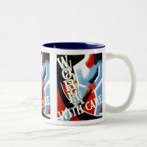 Work With Care coffe mug