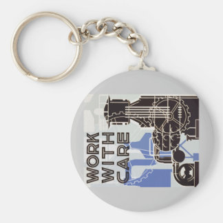 Work WIth Care Key Chain