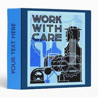 Work With Care Vinyl Binders