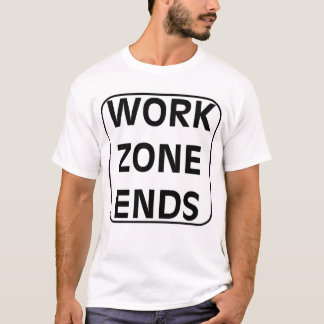 Work Zone Ends Tee