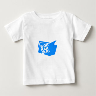workaholic - blue baby T-Shirt