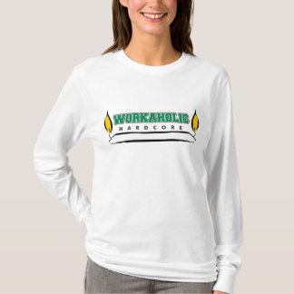 Workaholic Burning Candle at Both Ends T-Shirt