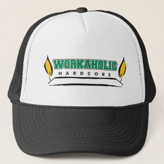 Workaholic Burning Candle at Both Ends Trucker Hat