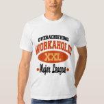 Workaholic divertido poleras
