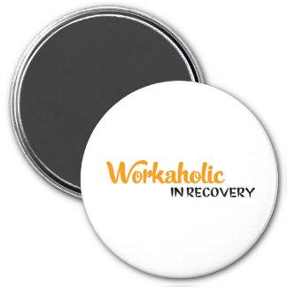 Workaholic in recovery kühlschrankmagnete