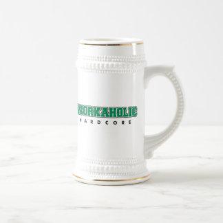 Workaholic incondicional tazas de café