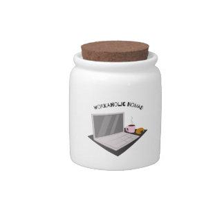 Workaholic Nomad Candy Jars