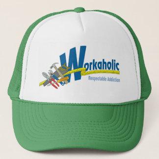 Workaholic Respectable Addiction Trucker Hat