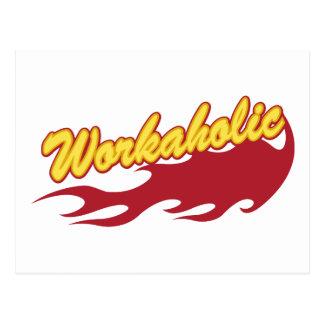 Workaholic Postales