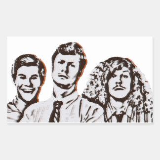 Workaholics Rectangular Sticker