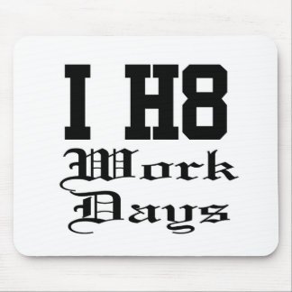 workdays mouse pad