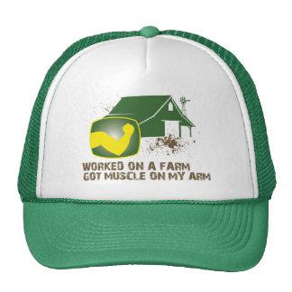 Worked on a Farm Trucker Hat