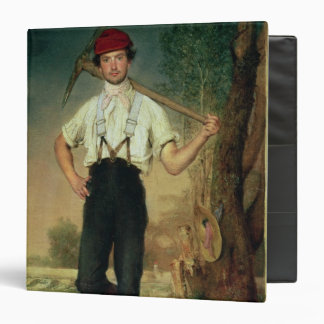 Worker, 1848 3 ring binder