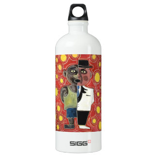 Worker and manager by rafi talby aluminum water bottle