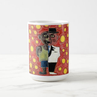 Worker and manager by rafi talby coffee mug