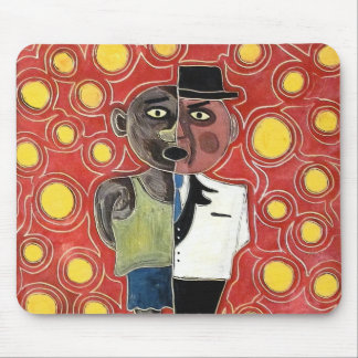Worker and manager by rafi talby mouse pad