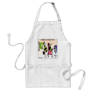 Worker and Retired Bee Adult Apron