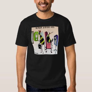 Worker and Retired Bee Tee Shirt