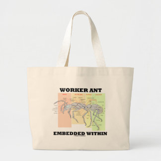 Worker Ant Embedded Within Ant Worker Morphology Tote Bag