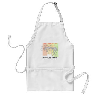 Worker Ant Inside (Ant Anatomy) Adult Apron