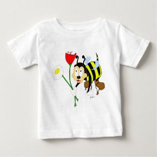 Worker Bee and Flower Baby Shirt