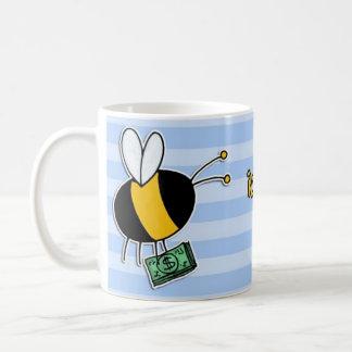 worker bee - banker coffee mug