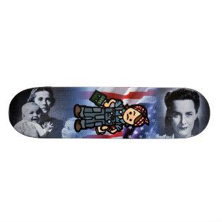 worker bee board. skateboard deck