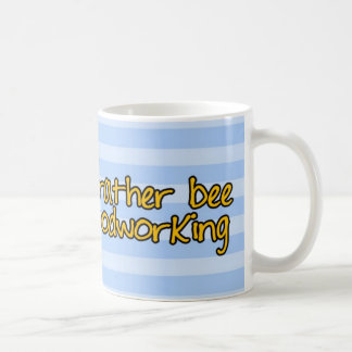 worker bee - carpenter mugs