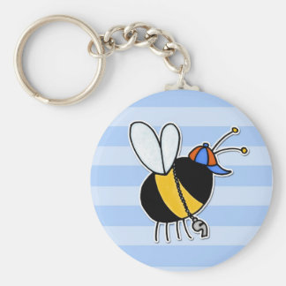 worker bee - coach keychain