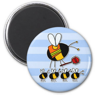 worker bee - crossing guard magnet