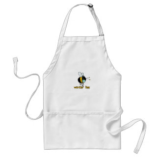 worker bee - doctor adult apron