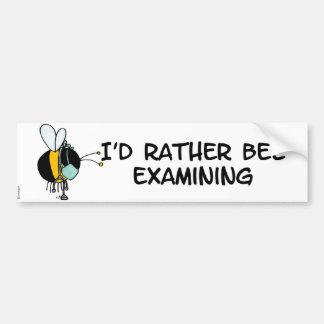 worker bee - doctor bumper sticker