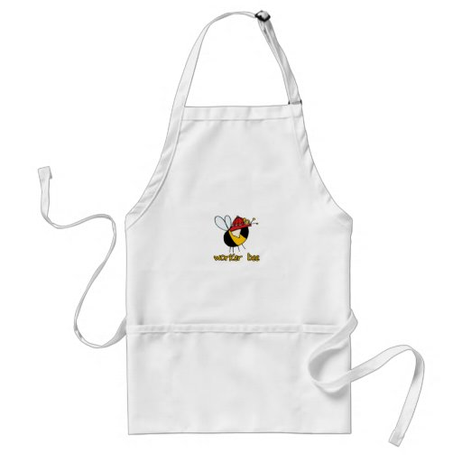 worker bee - firefighter aprons
