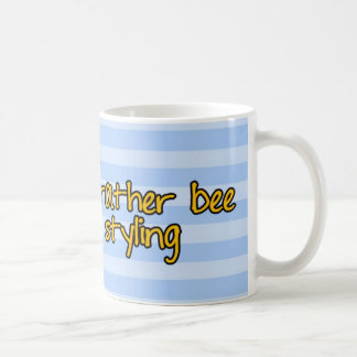 worker bee - hairdresser coffee mug