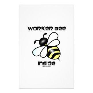 Worker Bee Inside (Bee Attitude) Stationery