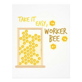 Worker Bee Letterhead