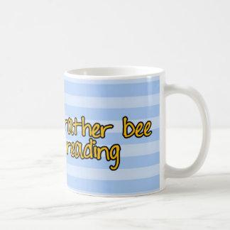 worker bee - librarian coffee mug