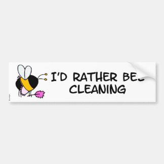 worker bee - maid bumper sticker