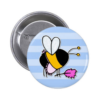 worker bee - maid button