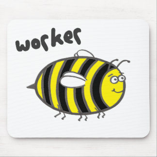 Worker Bee Mouse Mat