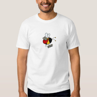 worker bee - paperboy no txt shirts