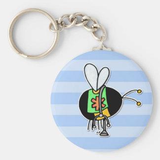worker bee - paramedic keychain