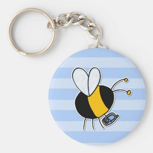 worker bee - phone sales key chains