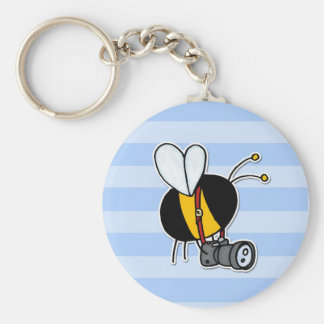 worker bee - photographer keychain