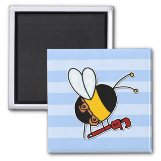 worker bee - plumber magnet