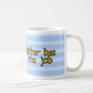 worker bee - police officer classic white coffee mug