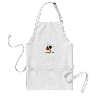 worker bee - postal worker adult apron